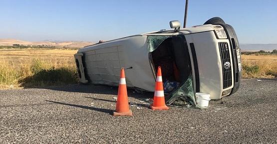 Kahramanmaraş'ta Kaza 1 Ölü 15 Yaralı