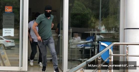 Kahramanmaraş'ta PTT Soygunu