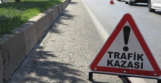 Kaldırıma Çarpan Sürücü Öldü