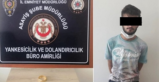 Kapkaççılık Yaptı Tutuklandı