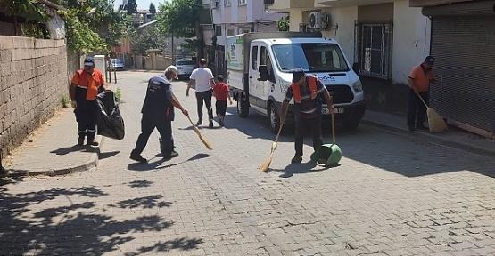 Onikişubat Mobil Temizlik Ekibi Kurdu