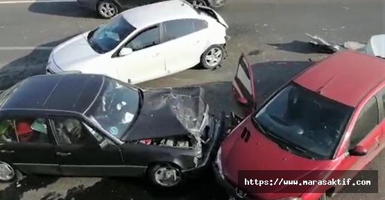 Zincirleme Kazada 5 Kişi Yaralandı