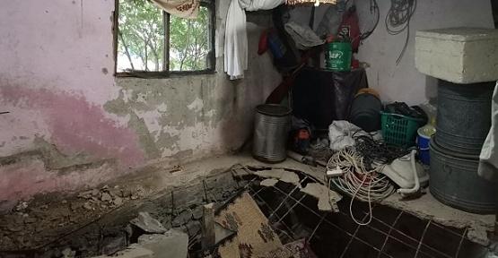 Evin Yatak Odası Çöktü