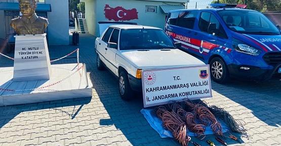 Kahramanmaraş'ta Hırsızlar Yakalandı