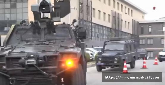 Kahramanmaraş'ta Şafak operasyonu