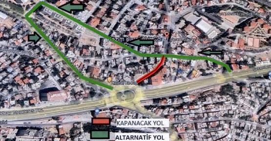 Karamanlı'da Yol Kapatıldı