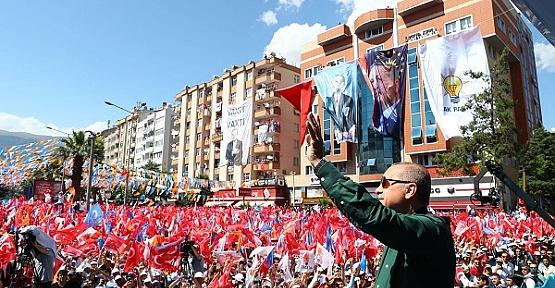 Erkoç'tan Kahramanmaraş'a Teşekkür