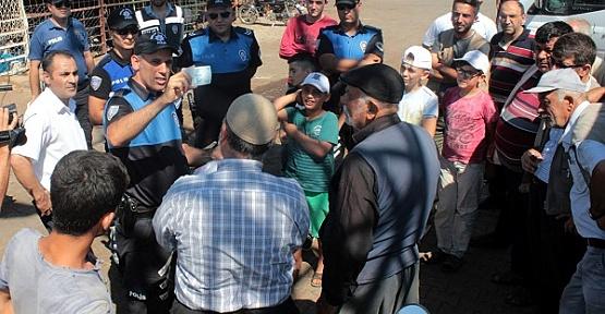 Polisten Kurbanlık Satıcılarına Uyarı