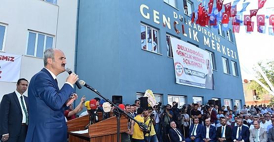 Kahramanmaraş'ın En Büyük Merkezi Açıldı