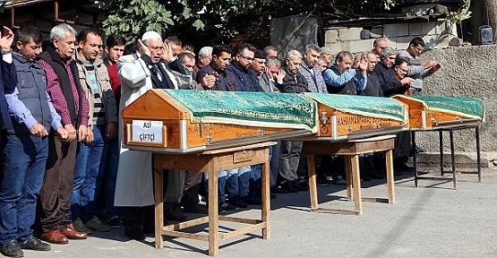 Kahramanmaraş'ta Öldürülen 3 Kişi Defnedildi