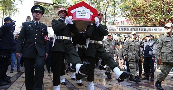 Şehit Kahramanmaraş'ta Defnedildi