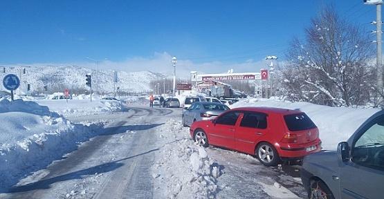 Kar Kahramanmaraş'a Izdırap Oldu
