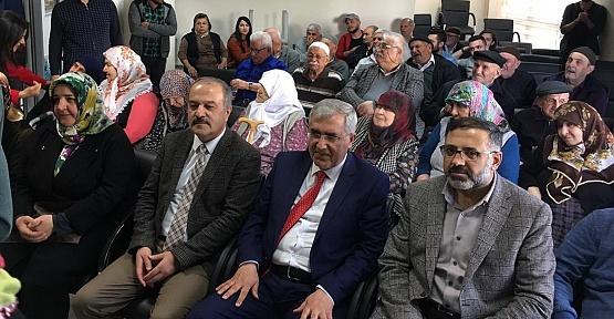 KSÜ Yaşlılar Haftasını Kutladı