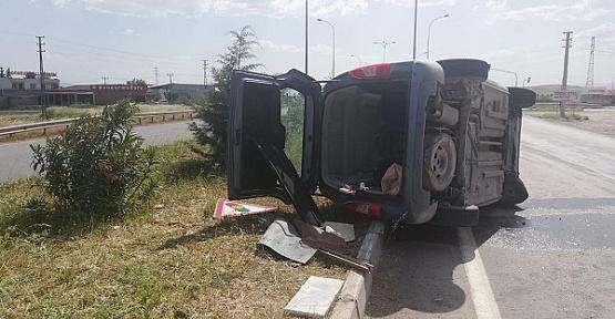 Trafik Kazasında 1 Ölü 3 Yaralı