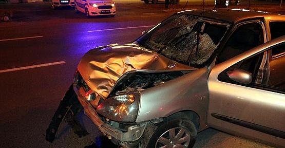 Otomobil Çarpan Yaşlı Öldü
