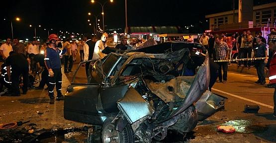 Trafik Kazasında 7 Yaralı Var