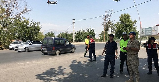 Drone İle Denetim Yapıldı
