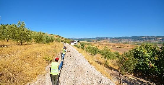 Yusufhacılı'da Su Çalışmaları Devam Ediyor