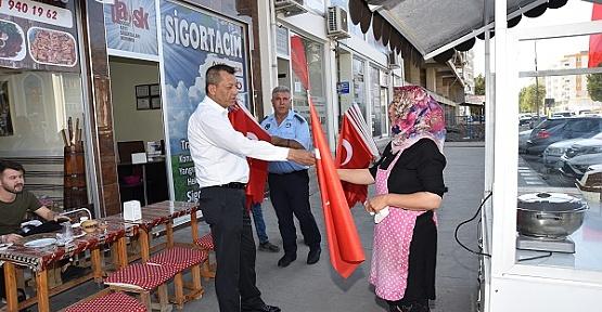 Türkoğlu Belediyesinden Harekata Destek