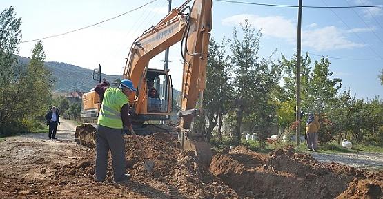 Yeniyapan'da İçme Suyu Çalışmaları Tamamlandı