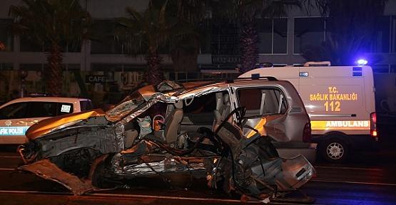 Kahramanmaraş'ta Kaza 1 Ölü 3 Ağır Yaralı