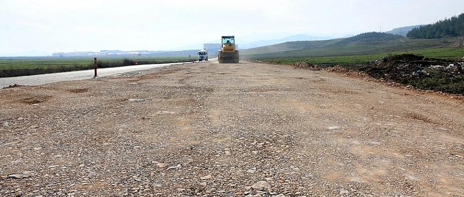 Türkoğlu'nda Bulvar Çalışması Yapılıyor