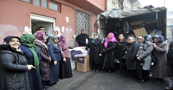 Asitane Vakfı Suriyelilere Yardım Etti
