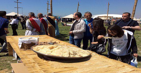 Büyükşehir Etnospor Kültür Festivaline Katıldı