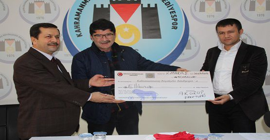 Büyükşehir'e 50 Bin Lira Yardım