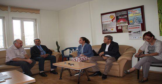 CHP'den Eğitim Sen'e Ziyaret