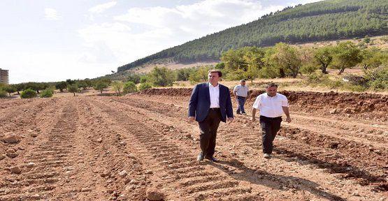 Erkoç, Yeni Bulvarı İnceledi