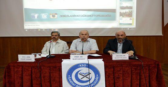 Hadis'e Dair Paneli Düzenlendi