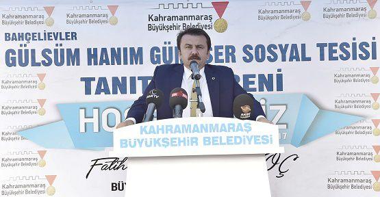 'Kahramanmaraş Akdeniz'in Bahçesi Olacak'