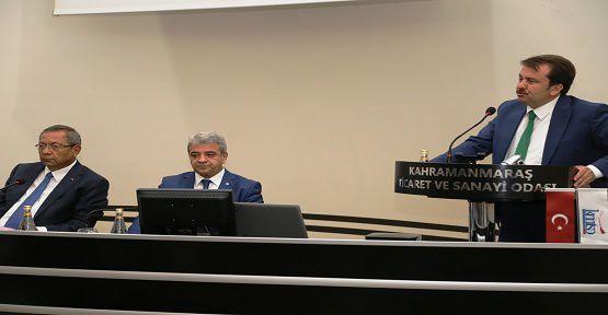 KMTSO Meclis Toplantısına Erkoç Katıldı