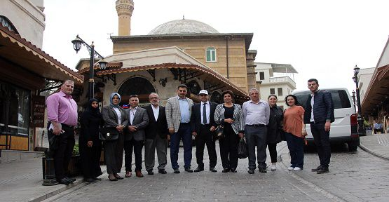 Konferans Sonrası Şehri Gezdiler