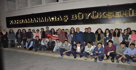 Öğrenciler Çanakkale'ye Gitti