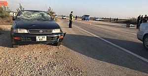 Otomobilin Çarptığı Kişi Öldü