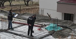 Kahramanmaraş'ta İnşaat Kazası 1 Ölü 1 Yaralı