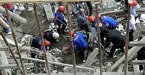 Kahramanmaraş'taki Göçükte 2 İşçi Öldü