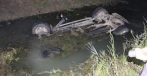 Kazada Kamyonetin Sürücüsü Öldü