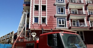 Kahramanmaraş'ta Otelde Yangın