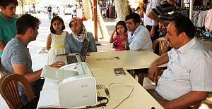 Tercih Bürosu Demokrasi Meydanı'nda
