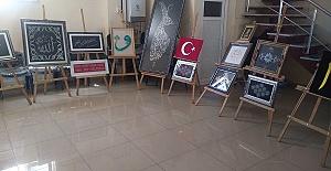 Türkoğlu'nda Kursiyerler Ürünlerini Sergiliyor