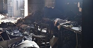 İmalathanede Yangın 2 İşçi Öldü