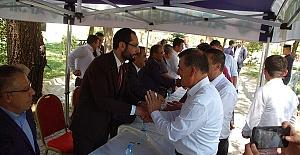 Sezal Afşin'de Bayramlaştı