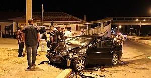 Trafik Kazası 11 Yaralı