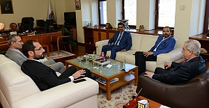 AK Parti'den Rektör Can'a Ziyaret