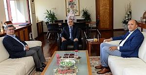 MHP'den Rektör Can'a Ziyaret