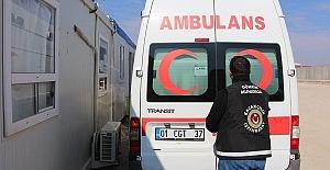 Ambulansta Esrar Ele Geçirildi
