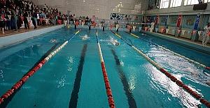 Engelliler Yüzme Şampiyonası Yapıldı